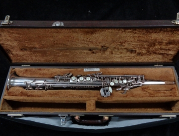 Selmer Paris Super Action 80 Series I in Silver Plate #337194 in Original Euro Case