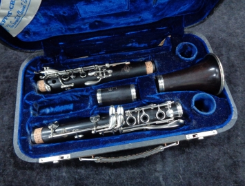Buffet Crampon Pairs France R13 Bb Clarinet with Nickel Silver Key Work, Serial #101687 - Fresh Re-Pad