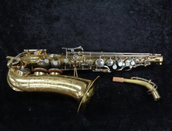 Vintage Buescher 400 Alto Saxophone #394447 - Fully Overhauled Ready To Play!