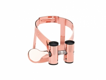 Limited Edition Vandoren M|O Ligature for Bb Clarinet in Pink Gold Plate