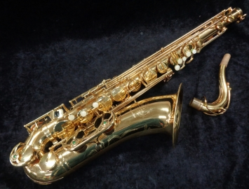Excellent! B&S Series 1000 Tenor Saxophone in Gold Lacquer, Serial #009154