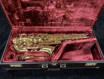 Yamaha YAS-875 'Custom' Alto Saxophone in Gold Lacquer, Serial #002841