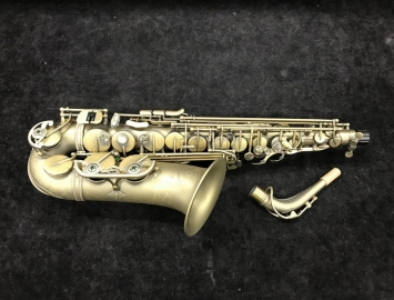 New P Mauriat 67RDK Matte Finish Alto Sax - BLOWOUT PRICE - Serial # PM1214317