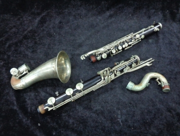 Selmer Paris Q Series Low Eb Bass Clarinet, Serial #Q442