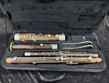 Late 19th Century Vintage Heckel Bassoon in Good Overall Condition - Serial # 3902