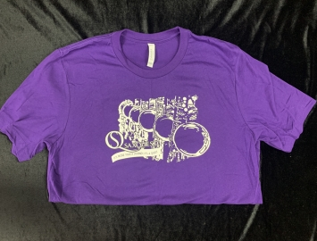Saxquest T-Shirt in Purple