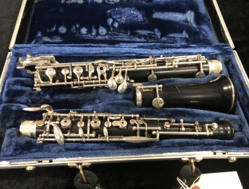 A. Laubin New York Oboe- Fully Restored Professional Oboe - Serial #845