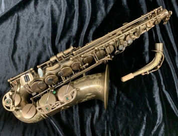 P. Mauriat 67R UL Alto Saxophone in Raw Brass Finish, Serial #PM1106917
