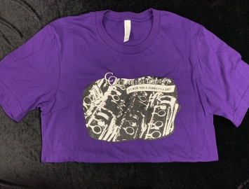 Clarinetquest T-Shirt in Purple