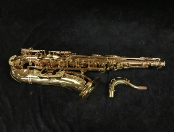 Like New! Cannonball Big Bell Stone Series 'Tiger Eye' Tenor Saxophone, Serial #134304