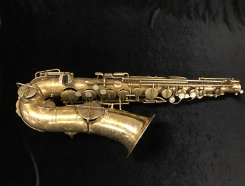 Vintage Buescher Gold Plated True Tone Alto Saxophone, Serial #194626