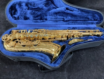 NICE P Mauriat System 76 2nd Edition Tenor Sax in Rich Gold Lacquer - Serial # PM0524319