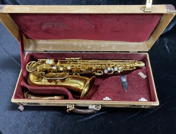 1951 Vintage King Zephyr Alto Sax with Pro Pad Job - Serial # 320883