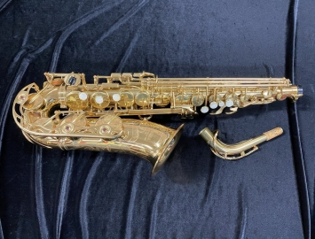 Early Series Yamaha YAS-62 Alto Sax in Excellent Condition - Serial # 090487
