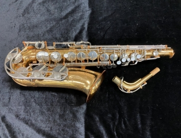 Freshly Repadded Yamaha-made Vito Beginner Alto Sax - Serial # 033790