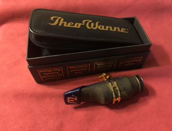 Theo Wanne Ambika 2 #8 Hard Rubber Mouthpiece for Tenor Saxophone