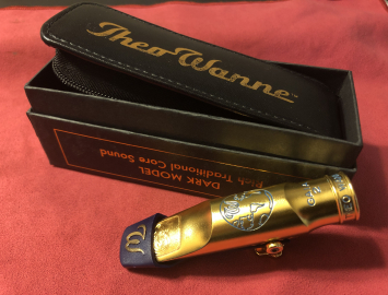 Lightly Played! Theo Wanne Gaia 2 #8 Metal Mouthpiece for Tenor Saxophone