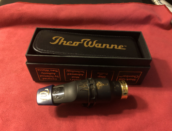 Theo Wanne Shiva 2 #8 Hard Rubber Mouthpiece for Tenor Saxophone