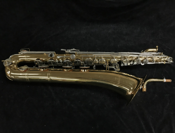 Selmer USA Low A Baritone Saxophone Gold Lacquer, Great Student Bari, Serial #1082294