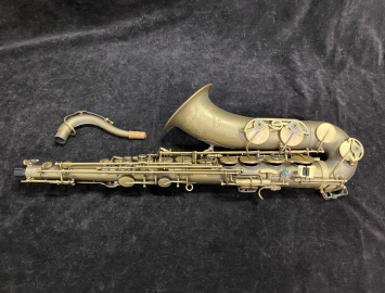 Store Demo P Mauriat 66R Tenor Sax In DK Finish - BLOWOUT PRICE - Serial # PM1008519