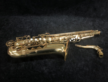 As Is Bargain Bin Price! Evette by Buffet Crampon Student Tenor Saxophone, Serial #605319