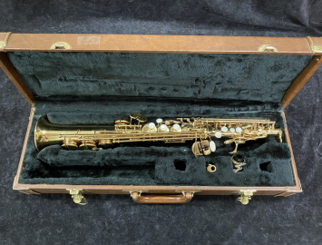 Lightly Used Vespro Soprano Sax in Good Pads - Serial # 4163