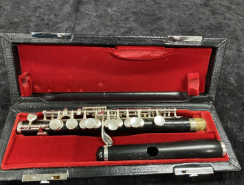 Professional Grenadilla Wood Zentner Piccolo - Serial # 4395