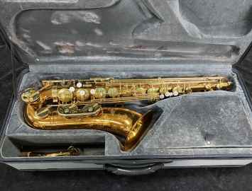 Dark Gold Lacquer Keilwerth SX90R Tenor Sax in PRISTINE Condition - Serial # 119731