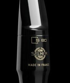 New Selmer Paris S80 Alto Sax Mouthpiece