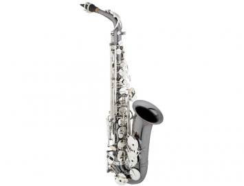 New Eastman 640 Series Alto Saxophone - Black Nickel Body With Silver Keys
