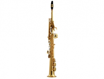 New Eastman 642 Series Soprano Saxophone in Gold Lacquer