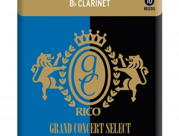 Grand Concert Select Traditional Reeds for Bb Clarinet