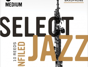 D'Addario Select Jazz Reeds - Filed & Unfiled - for Bb Soprano Sax