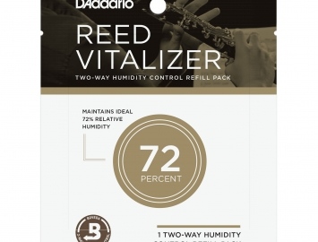 D'Addario Reed Vitalizer Refill Pack - 72%