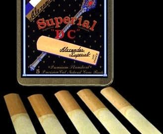 Alexander Superial DC Reeds for Bb Tenor Sax