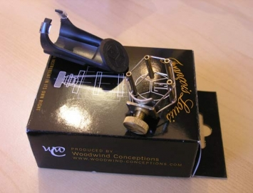 The Ultimate Ligature Designed by Francois Louis for Eb Alto Sax