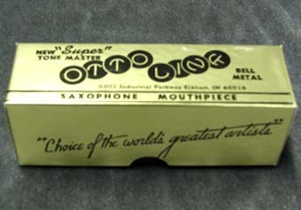Otto Link Metal Tenor Sax Mouthpiece