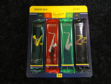 New Vandoren Jazz Mix Tenor Sax Reeds