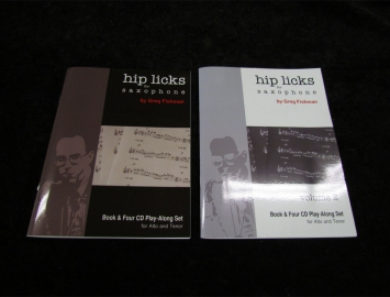 Hip Licks for Saxophone by Greg Fishman