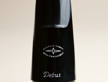 NEW Clark W Fobes Debut Mouthpiece for BBb Contrabass Clarinet