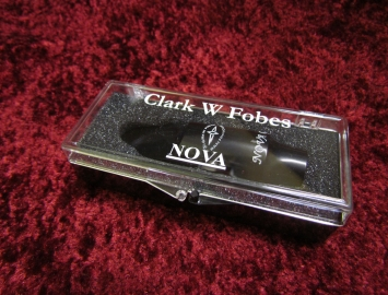 NEW Clark W Fobes Nova G Series Professional Mouthpiece for Eb Alto Sax