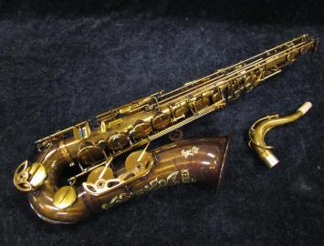 New Keilwerth MKX Tenor Saxophone in Antique Brass
