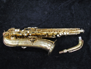 ORIGINAL CG Conn New Wonder Virtuoso Deluxe C-Melody Sax # 124265