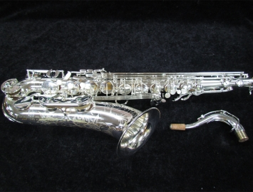 New! TM CUSTOM 500 SL Silver Finish Tenor Saxophone