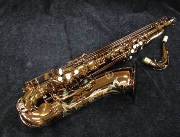 NEW Chateau 500 Series Tenor Saxophone in Dark Lacquer
