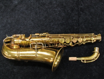 WOW!!! 1901 EARLY Vintage CG Conn Wonder Improved Alto Sax - Serial # 4746