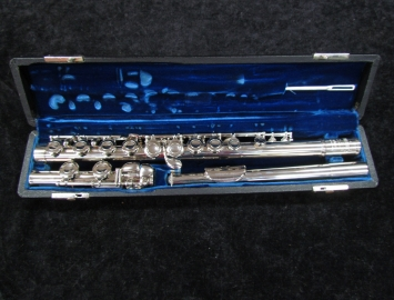 Beautiful Selmer Bundy C Foot Flute Ready To Play! Serial #66148