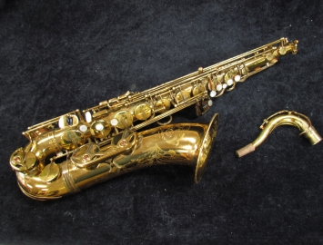 Vintage Original Lacquer Selmer Paris Mark VII Tenor Sax, Serial #265213
