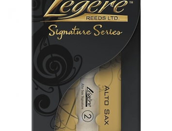 New Legere Signature Series Synthetic Reed for Alto Sax