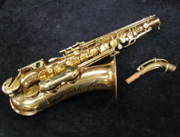 Couf-Made Bundy SPECIAL Alto Sax with Rolled Tone Holes - Serial # 50606